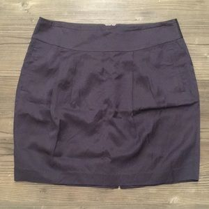 Banana republic gray tulip skirt size 12